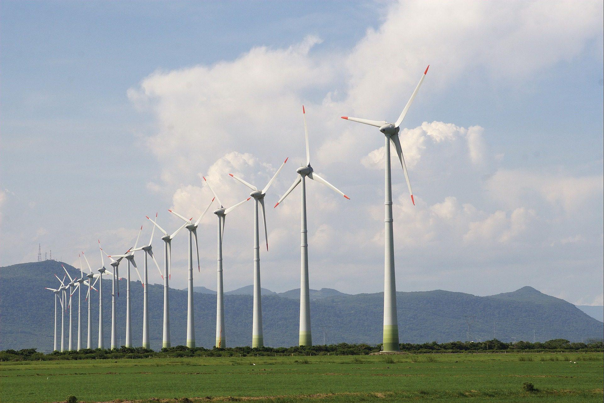 Projektfinanzierung für einen Windpark