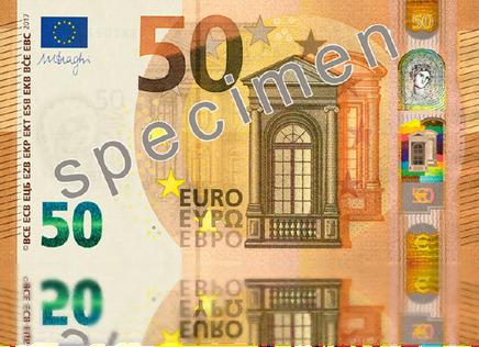Der neue 50€-Schein
