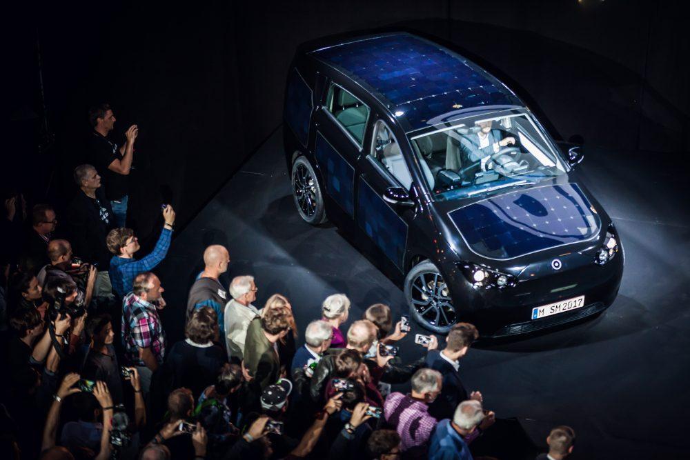 Das Elektroauto Sion wurde im Rahmen des Release-Events in München vorgestellt