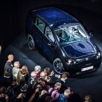 Das Elektroauto Sion wurde auf dem Release Event in München vorgestellt