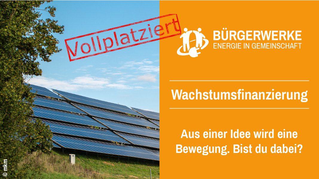 Energieversorgung Der Zukunft Mit Den Bürgerwerken