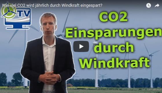 CO2 Einsparung Windkraft