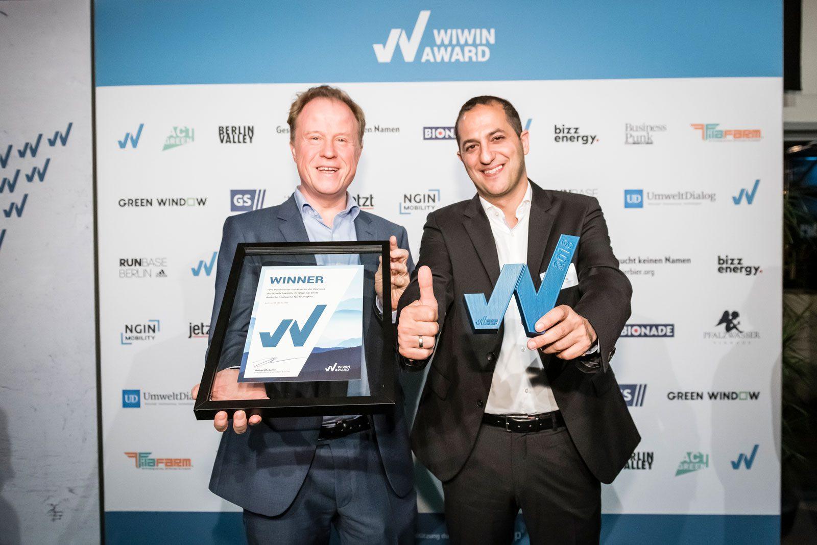 HPS Gewinnt Den WIWIN AWARD 2018
