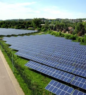 Wattner Solarkraftwerk Meißen 2