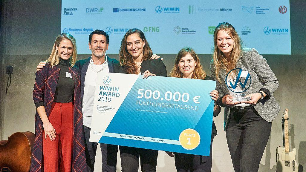WIWIN AWARD: Keine Crowdinvesting-Kampagne Für Gewinner Spoontainable