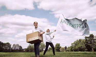 Frischepost Gründerinnen_Frische_Revolution_Kampagnenmotiv