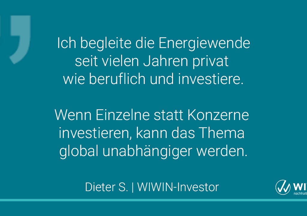 Zitat Eines Investors In EE-Projekte 2