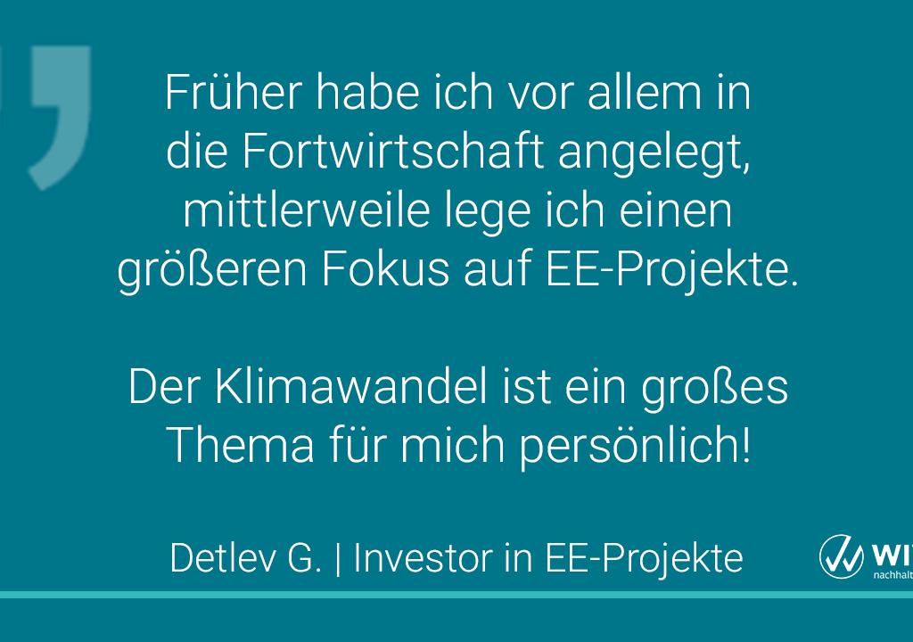 Zitat Eines Investors In EE-Projekte 3