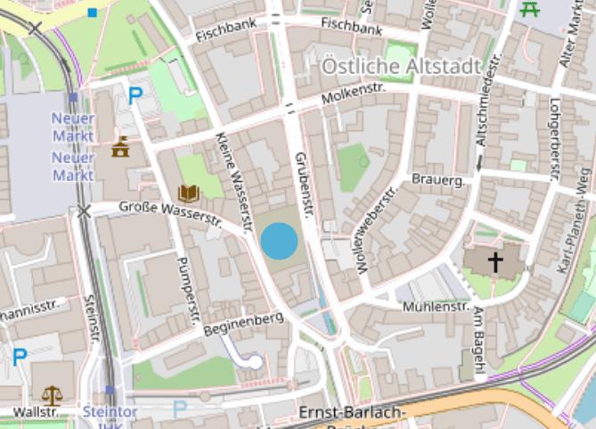 Karte Rostocker Altstadt