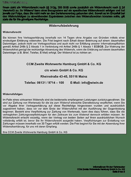 Verbraucherinformationen Hamburg-Rahlstedt