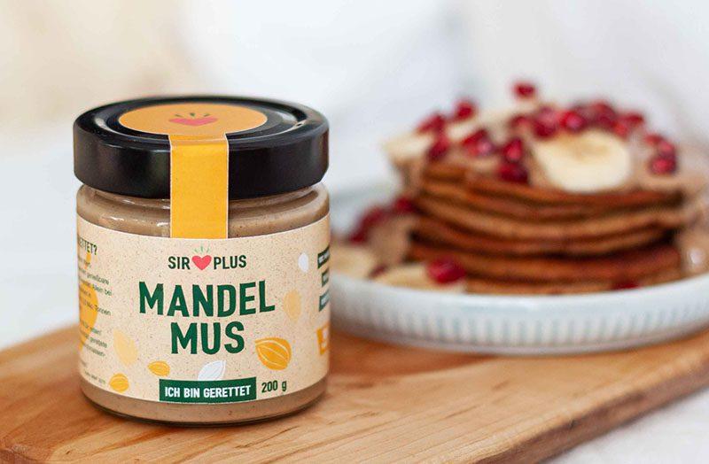 SIRPLUS Produkt Mandelmus
