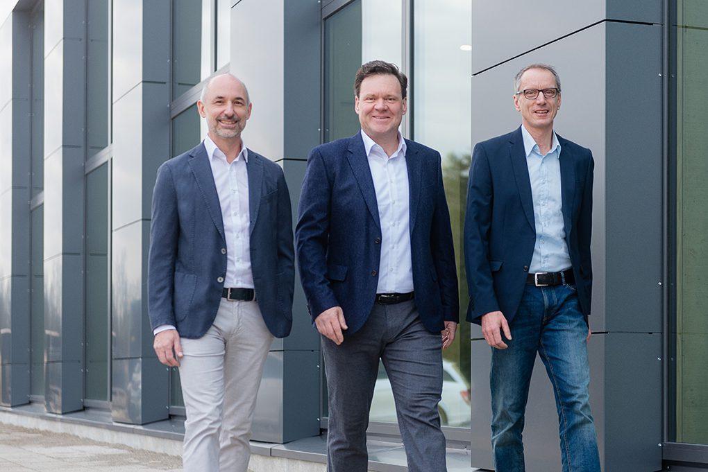 Die drei Gründer der Envola GmbH