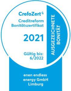 Logo CrefoZert enen Projektentwicklung