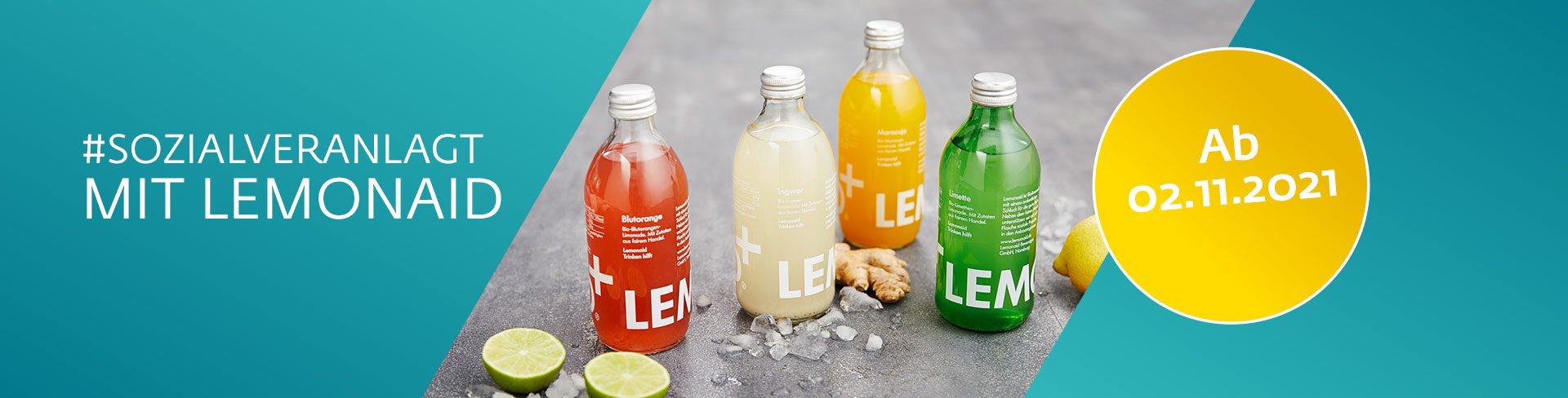 Lemonaid ab 2.11.2021 bei WIWIN