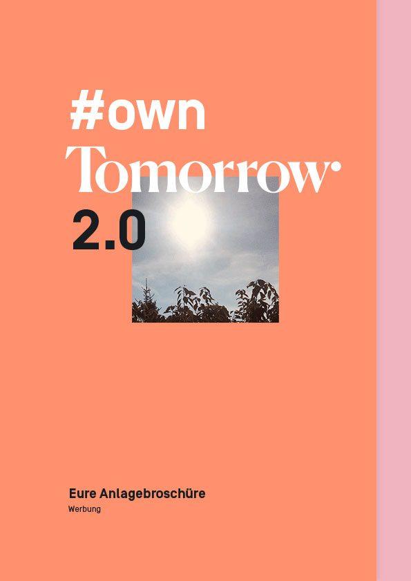 Tomorrow Anlagebroschüre 2.0